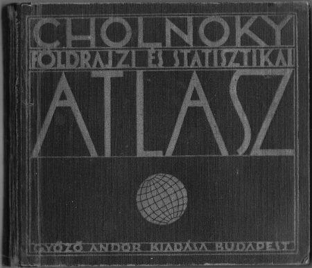 Cholnoky Földrajzi és Statisztikai Atlasz