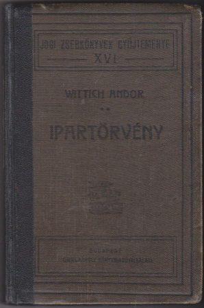 Ipartörvény (1884: XVII. törvénycikk)