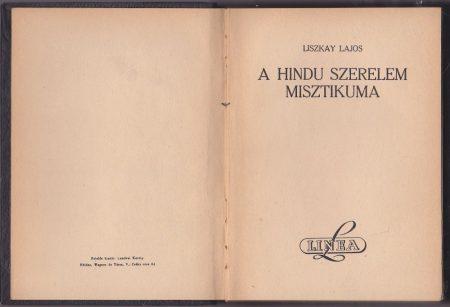 A hindu szerelem misztikuma