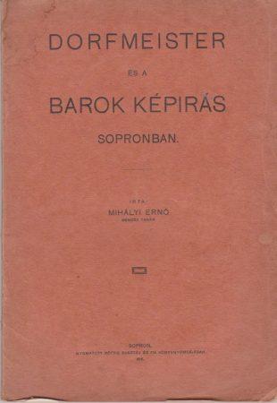 Dorfmeister és a barok képírás Sopronban