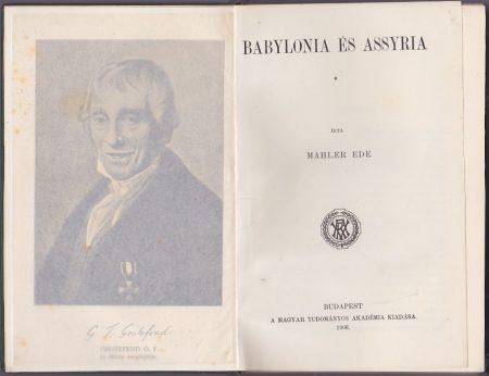Babylonia és Assyria