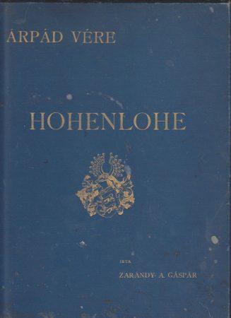 Árpád vére - Hohenlohe