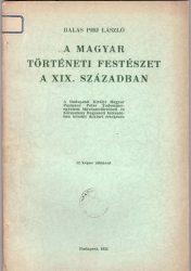 A magyar történeti festészet a XIX. században