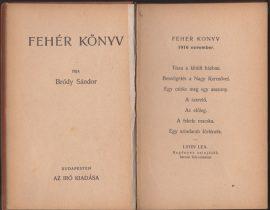 Fehér könyv. 1916 november