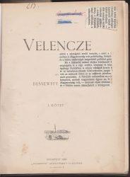Velencze I-II.