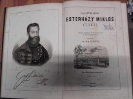 Galántai Gróf Esterházy Miklós munkái