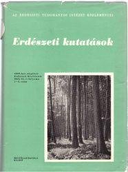 Erdészeti Kutatások 1965. 1-3.szám