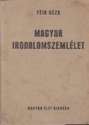 Magyar irodalomszemlélet