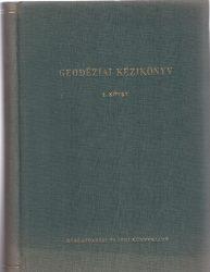 Geodéziai kézikönyv I-II. kötet