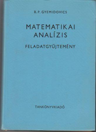Matematikai analízis feladatgyűjtemény