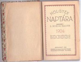 Hölgyek naptára 1924