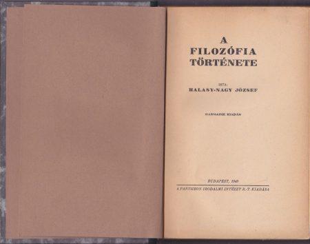 A filozófia története