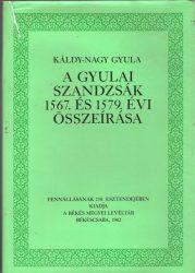 A gyulai szandzsák 1567. és 1579. évi összeírása