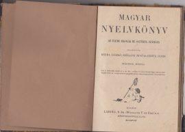 Magyar nyelvkönyv az elemi iskolák III. osztálya számára