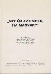 """""""Mit ér az ember, ha magyar?"""""""