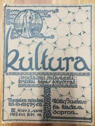 Kultura irodalmi, művészeti, kritikai képes folyóirat számai + Kultura-Almanach 1913