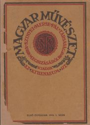 Magyar Művészet. Első Évfolyam. 1925. 5. szám