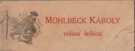 Mühlbeck Károly vidám fejlécei