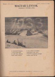 Magyar Lányok 1933. XXXIX-XL.  évfolyam