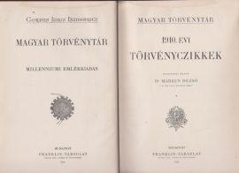 Magyar Törvénytár. 1910. évi törvényczikkek