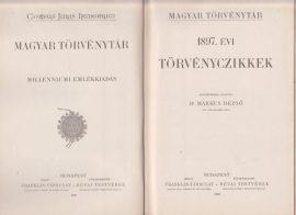 Magyar Törvénytár. 1897. évi törvényczikkek
