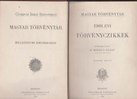 Magyar Törvénytár. 1908. évi törvényczikkek II.