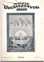 Magyar Uriasszonyok Lapja 1931