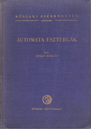 Automata esztergák