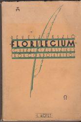 Florilegium egyházi és klasszikus írók gondolataiból I. kötet