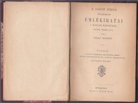 II. Rákóczy Ferencz fejedelem emlékiratai a magyar háborúról, 1703-tól végéig (1711)