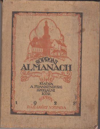 Soproni almanach az 1922-ik évre