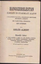 Hangszereléstan elméleti és gyakorlati alapon. A klasszikusok és a jelenkori mesterek műveiből idézett 500 partitura-példával. Második kötet