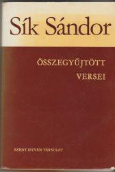 Sík Sándor összegyűjtött versei
