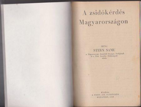 A zsidókérdés Magyarországon