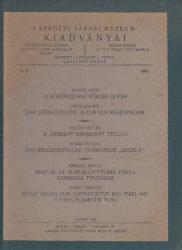 A Szegedi Városi Múzeum Kiadványai 1942 II.3