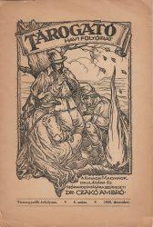 Tárogató. Tizenegyedik évfolyam. 6. szám 1948. december