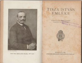 Tisza István emléke
