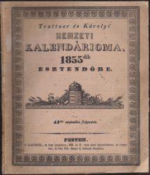 Trattner és Károlyi Nemzeti Kalendárioma 1855dik esztendőre