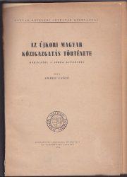 Az újkori magyar közigazgatás története Mohácstól a török kiűzéséig